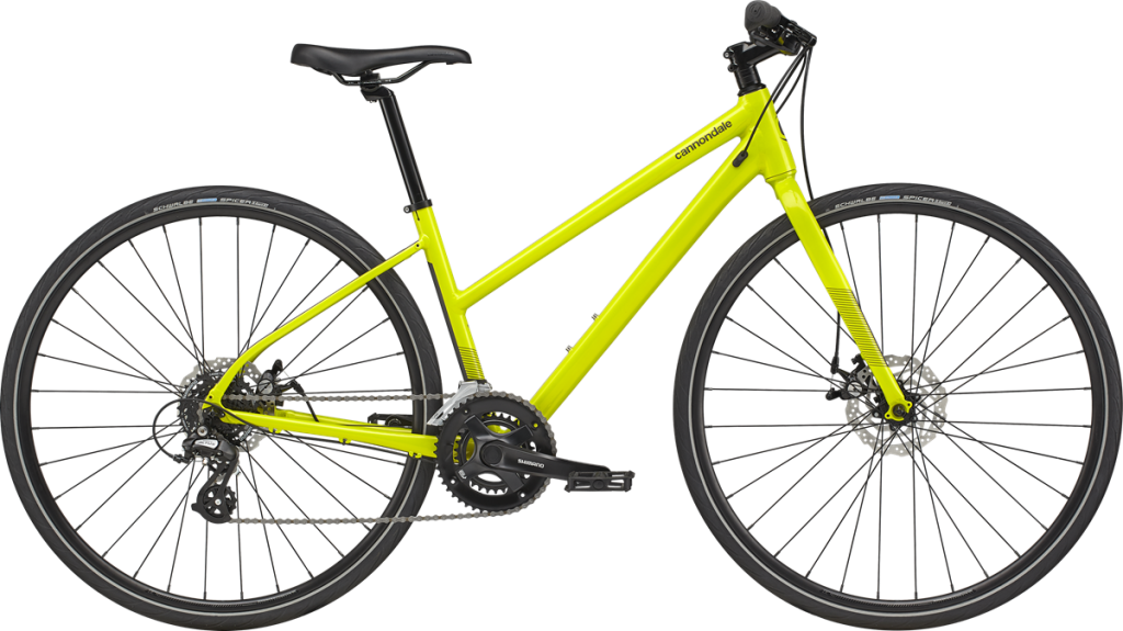 Curbside Cyclery selling a yellow hybrid bike in Ahwatukee, AZ